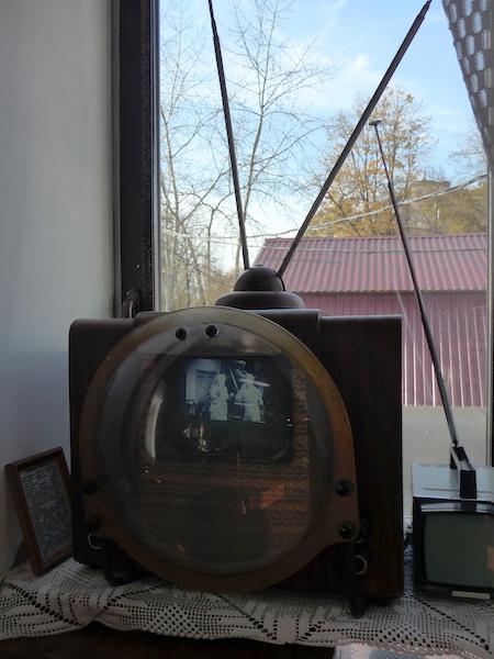 телевизор с лупой