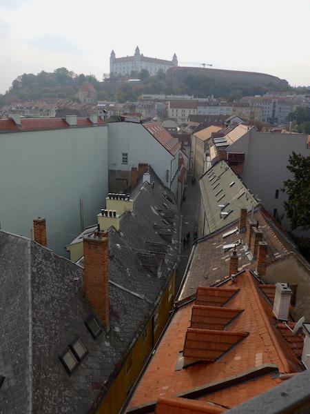 Братислава вид на крыши