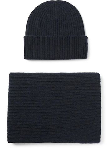 шапка и шарф для похорон