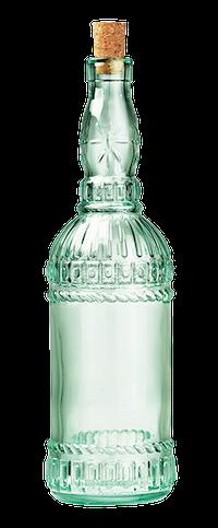 зеленая бутылка для масла