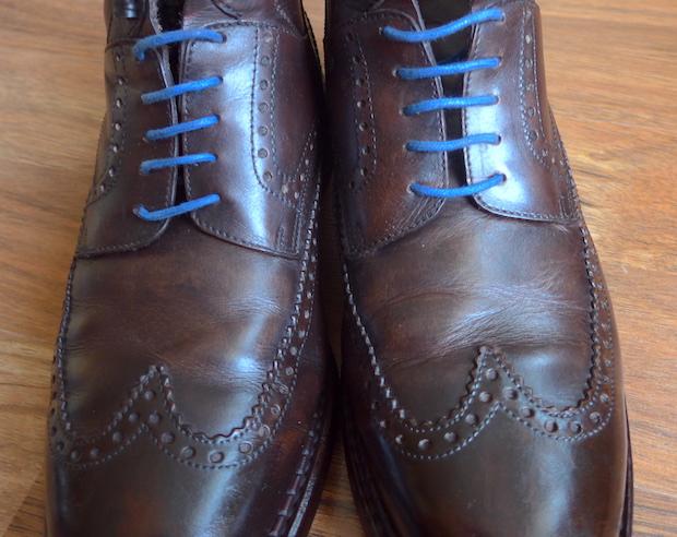 ботинки с патиной