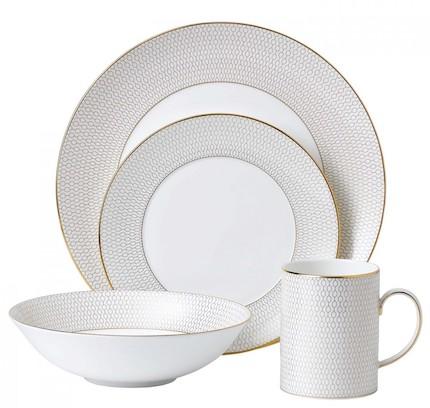столовая посуда - костяной фарфор
