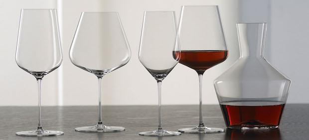 бокалы из выдувного стекла