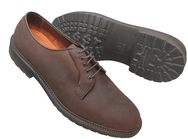 обувь из промасленного нубука