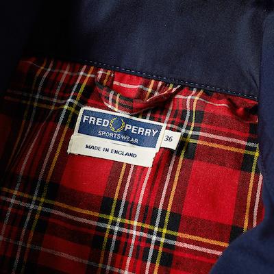 Fred Perry куртка-харрингтон
