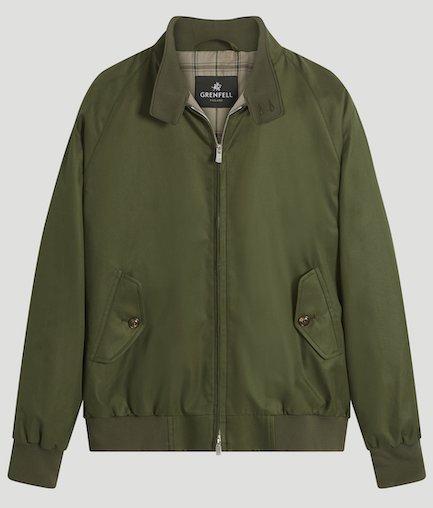 куртка-харрингтон Made in England