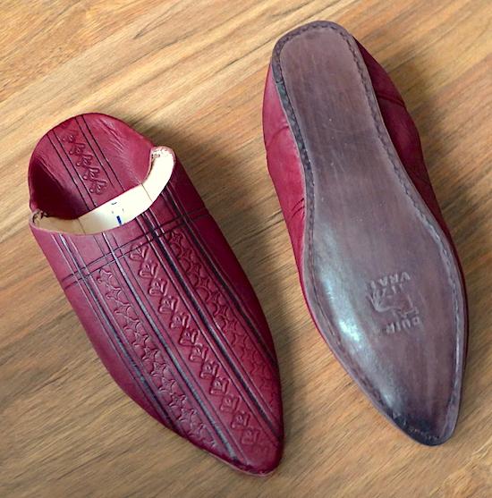 марокканские тапочки