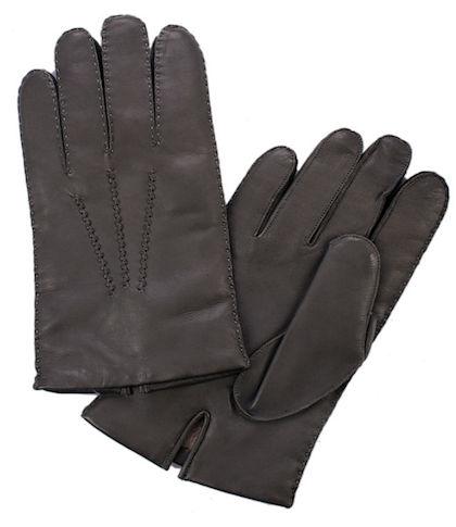 прошитые вручную перчатки