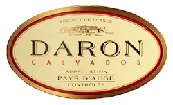 Кальвадос Daron логотип
