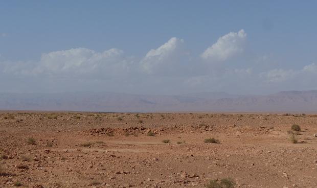 полупустыня в Марокко