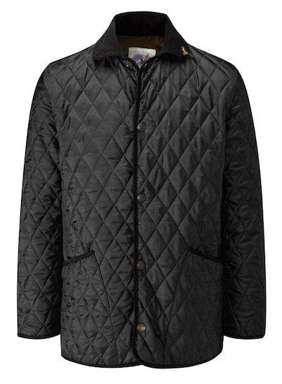 куртка с вельветовым воротником