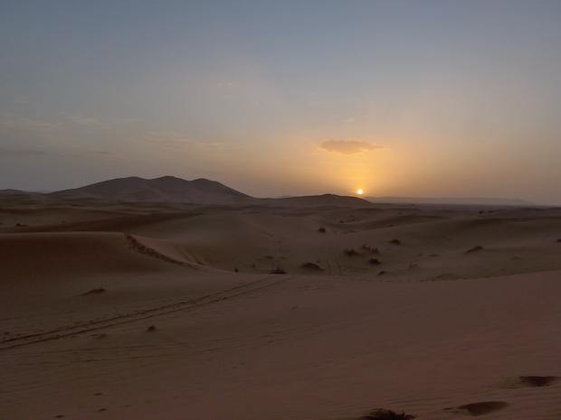 Марокко заход солнца