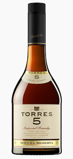 бренди Torres 5 Solera Reserva