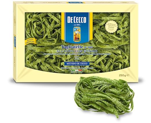 De Cecco паста со шпинатом