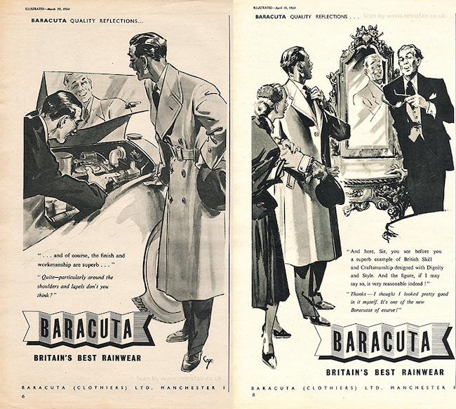 история фирмы Baracuta