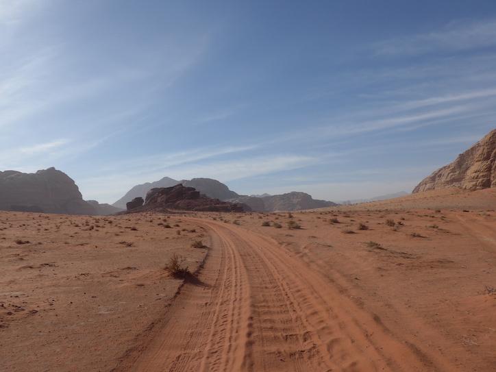 Вади-Рам дорога