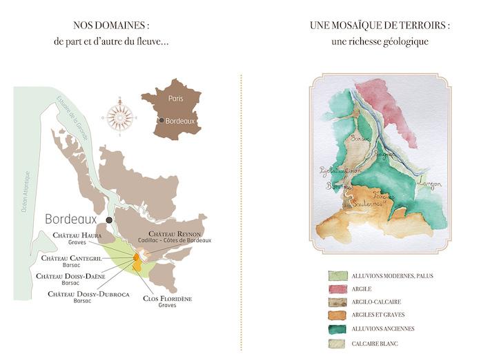карта Dubordieu Bordeaux