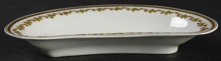 тарелка для рыбных косточек