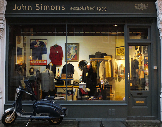 Лондон John Simons
