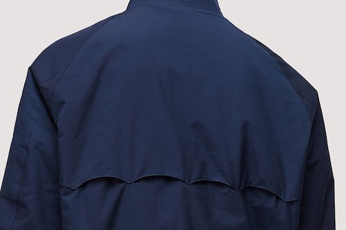 задняя часть куртки