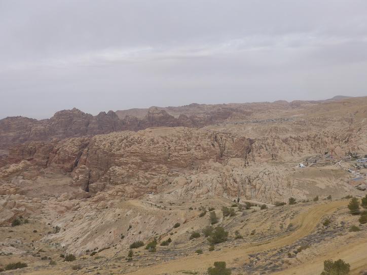 пустыня возле Петры