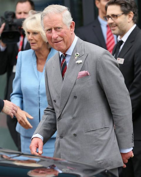 костюм принца Чарльза