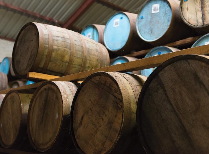 выдержка виски в бочках
