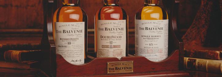 какие виски делает The Balvenie