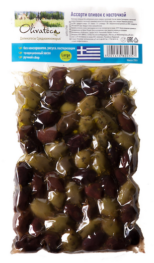 Olivateca оливки смесь