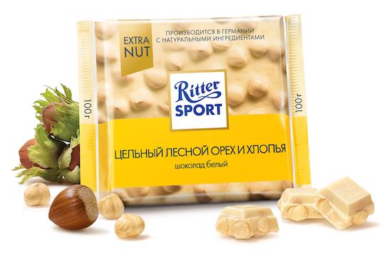 белый шоколад Ritter Sport