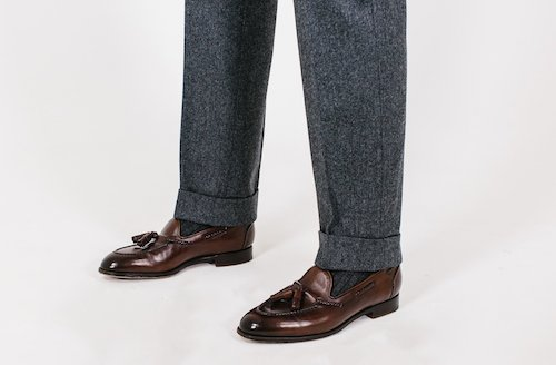 на каких брюках уместны манжеты