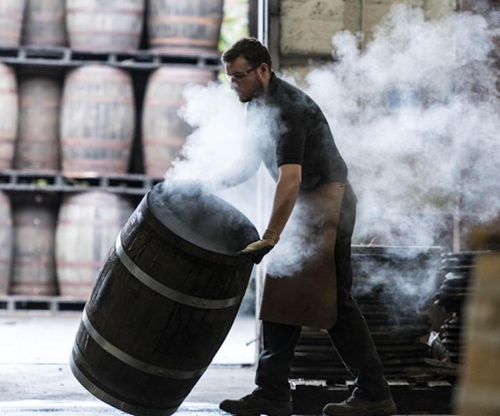 Как делают бочки для виски