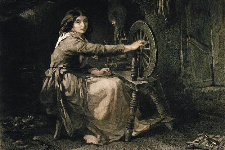 гравюра XIX века
