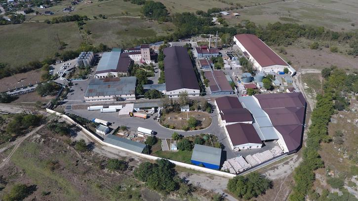 коньячный завод Кизляр