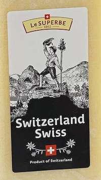 Le Superbe Swiss сыр швейцарский