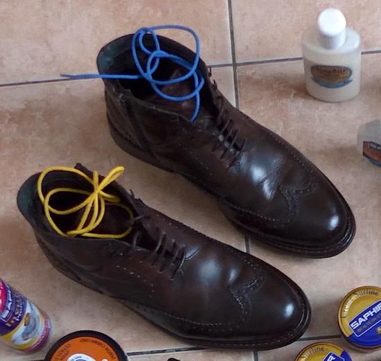 старые хорошие ботинки