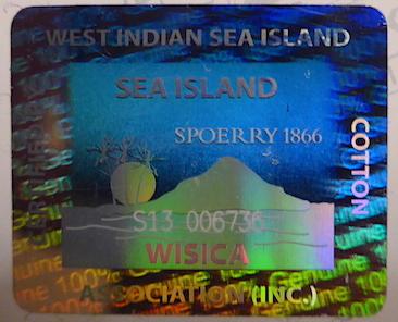 голограмма Sea Island