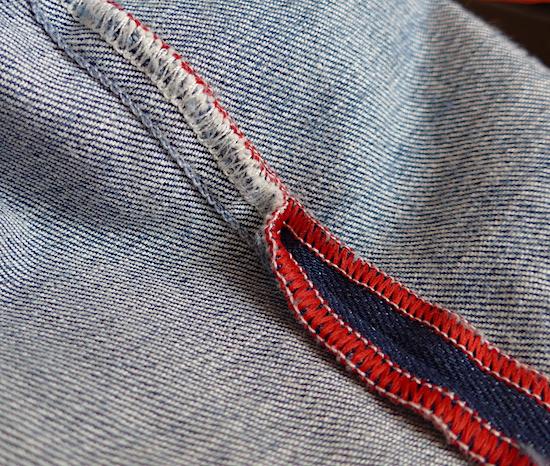 шов на джинсах Tramarossa